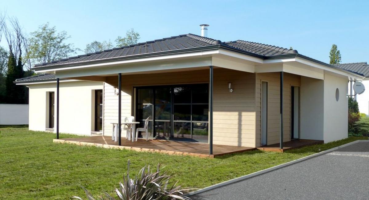 Les maisons pascal laurent constructeur de maisons en for Constructeur maison bordeaux